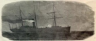 Chesapeake Affair - Image: Capture chesapeake steamer