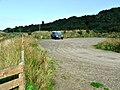 Car park at RSPB reserve in Nigg Bay - geograph.org.uk - 248131.jpg