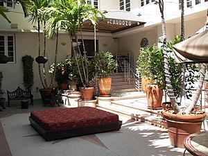 Emilio Estefan - The Cardozo hotel on Ocean Drive, in Miami Beach, Florida.