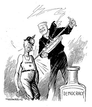 Carey Orr - 1918 editorial cartoon