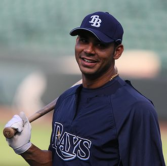 Carlos Peña - Peña with the Tampa Bay Rays
