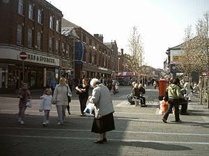 Castleford - Carlton Street is Castleford's main shopping street.