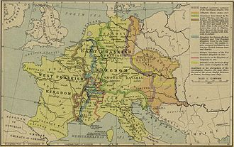 Treaty of Meerssen - The Carolingian Empire 843-888