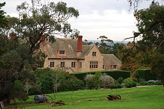 Carrick Hill - Image: Carrick Hill front view