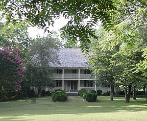 National Register of Historic Places listings in McDowell County, North Carolina - Image: Carsonhouse