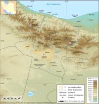 نقشه گسل تهران