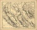 Carte de la Californie - suivant I. la Carte manuscrite de l'Amérique de Mathieu Néron Pecci olen dresses à Florence en 1604, II. Sanson 1656, III. De l'Isle Amérique Sept. 1700, IV. le Pere Kino LOC 2006627665.tif