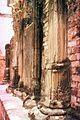 Carved pillars in Zanzibar (3079428700).jpg