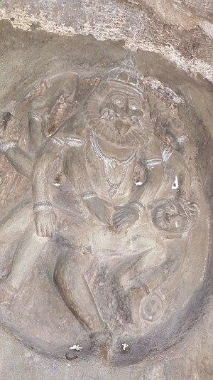 Undavalli Caves - Carvings at Undavalli caves 2