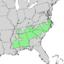 Carya pallida range map 1.png