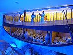 Castello di bodrum, ricostruzione di nave antica 01.JPG