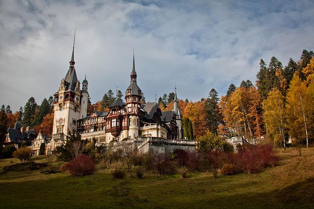 Epic Gothic Wedding Venue Castelul Peles Romania