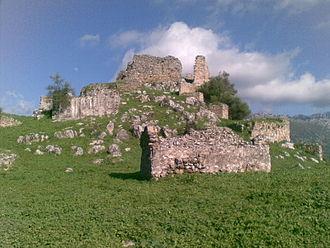 Benaocaz - Image: Castillo de Aznalmara