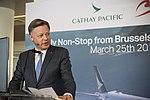 Cathay Pacific inaugural flight to Hong Kong (40130691485).jpg