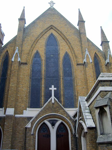 ملف:Catholic Church Deptford High Street.jpg