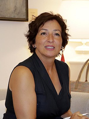 San Fernando de Henares - Cati Rodríguez Morcillo, mayor of San Fernando de Henares.