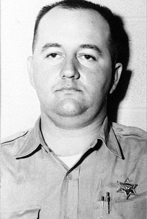 Cecil Price - Deputy Sheriff Cecil Ray Price Mugshot; Late 1964.