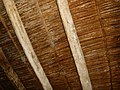 Ceiling with palm tree trunk.jpg