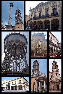 Celaya Place in Guanajuato, Mexico