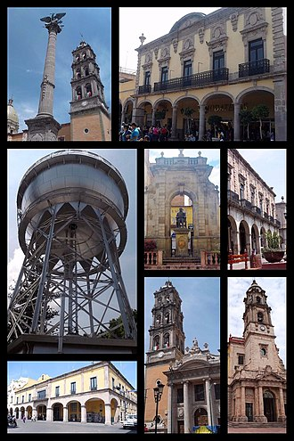 Celaya - Image: Celaya Collage