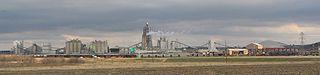 Cement plant in Midlothian, Texas