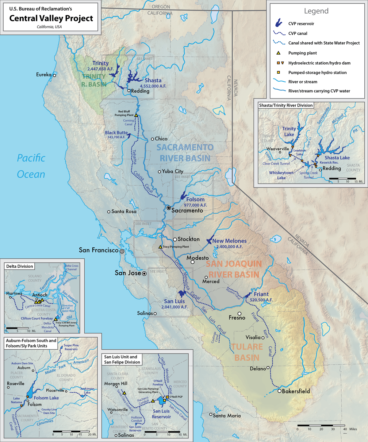 . central valley project  wikipedia