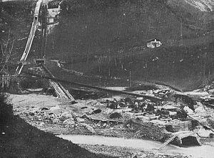 Gleno Dam