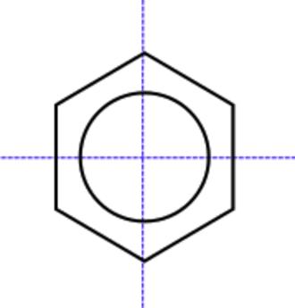 Centrosymmetry - Benzene is a centrosymmetric molecule having a centre of symmetry at the centre