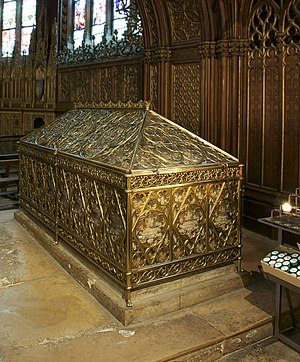 Genevieve - Tomb of Saint Genevieve in the church of Saint Etienne du Mont