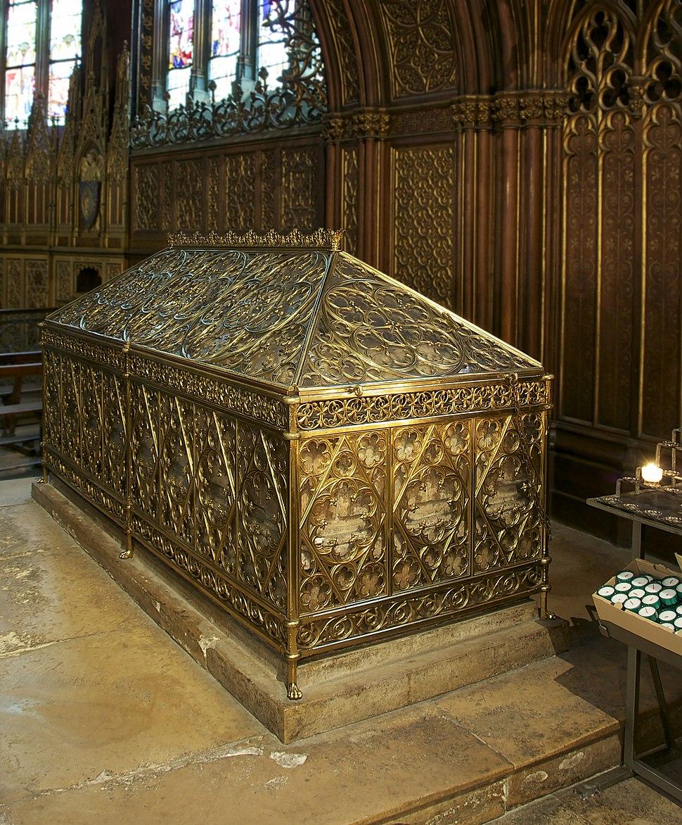 Châsse shrine Ste Geneviève Saint Etienne du Mont