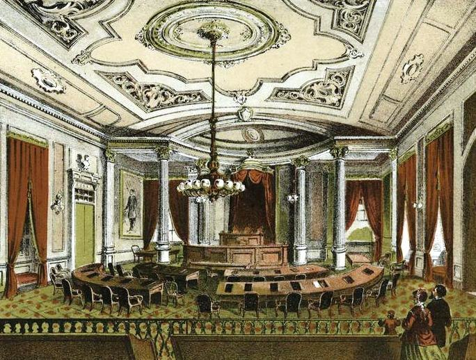 Chamber of the Board of Councilmen 1868