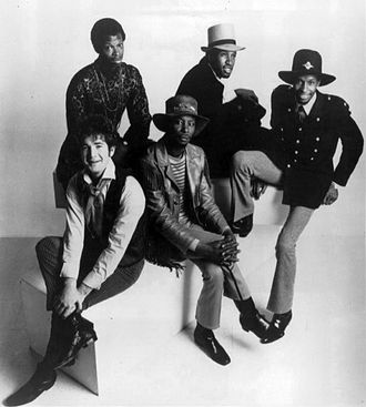 Psychedelic soul - The Chambers Brothers shown in 1970
