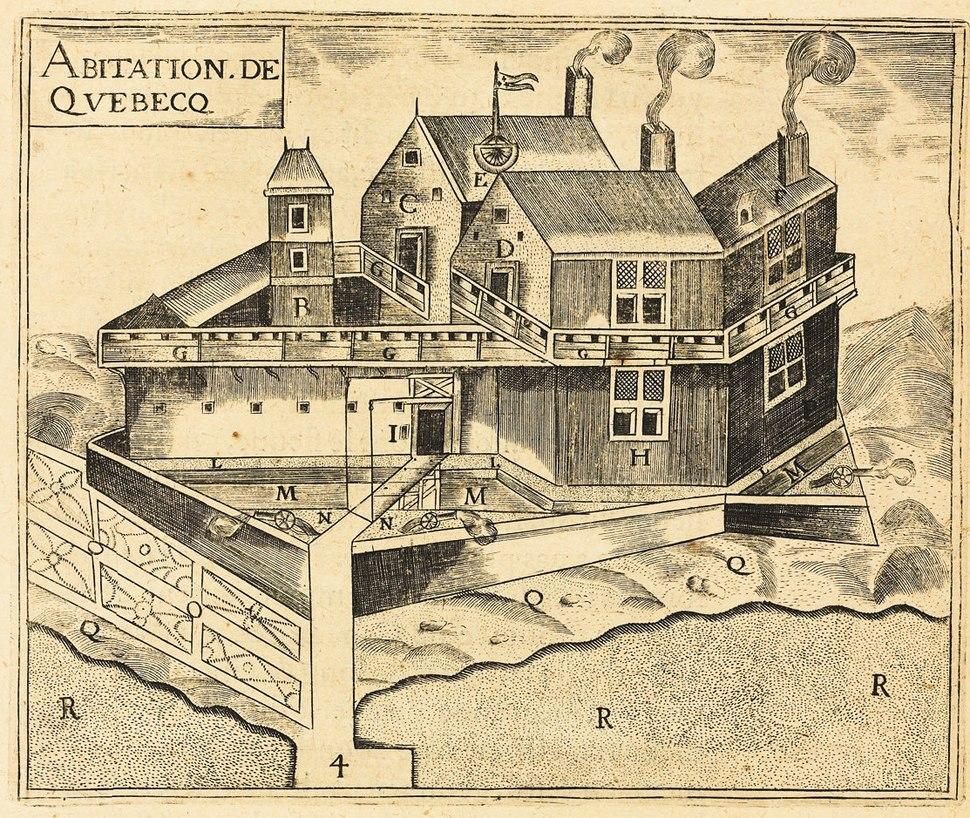 Champlain Habitation de Quebec