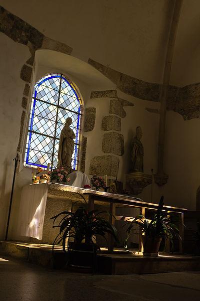 Chapelle de l'église saint Pierre à Gatteville-le-Phare (France)