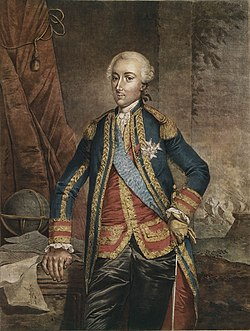 Portrait du comte d'Estaing