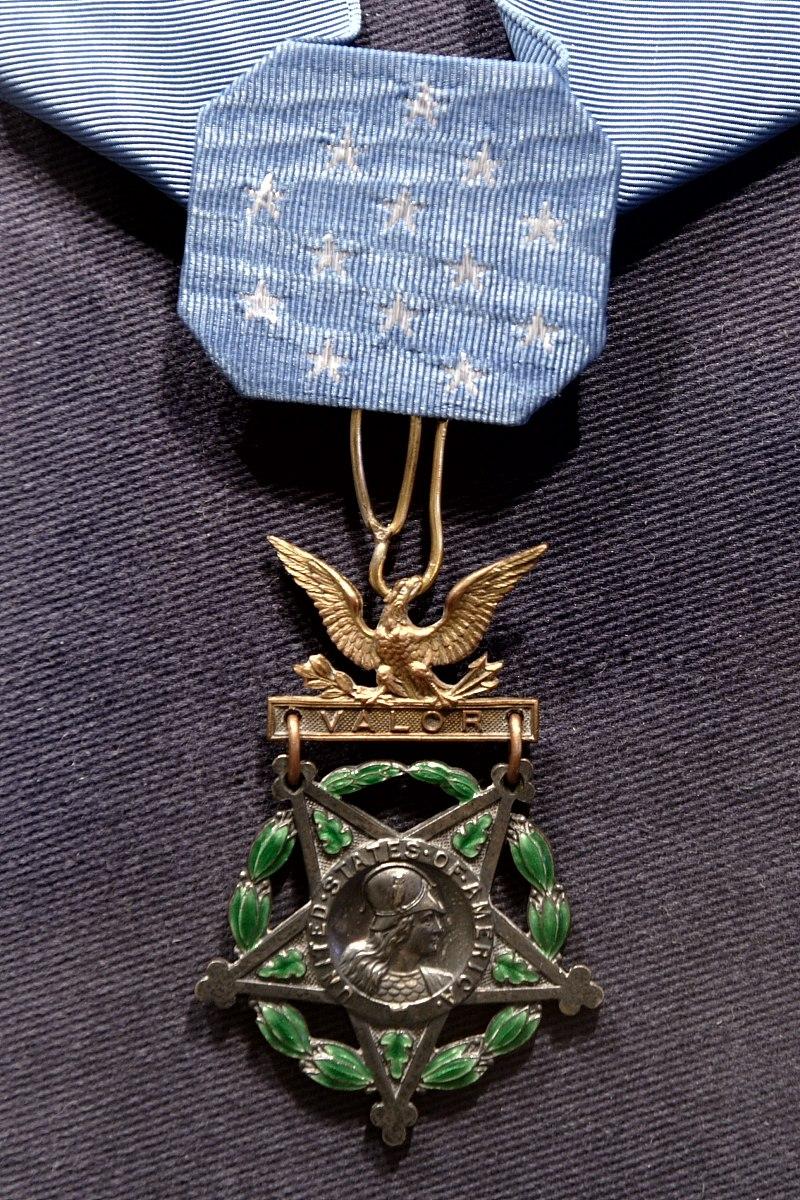 Charles Lindberg, Medal of Honor