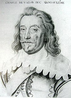 Charles de Valois, Duke of Angoulême Duke of Angoulême