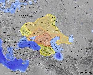 Western Turkic Khaganate - Image: Chasaren