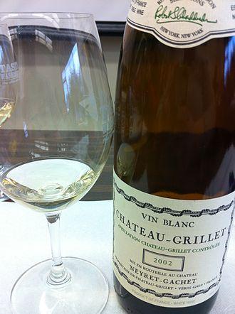 Château-Grillet AOC - Viognier wine from Château Grillet.