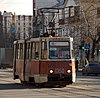 Chelyabinsk tram 71-605 number 1350 front right.jpg