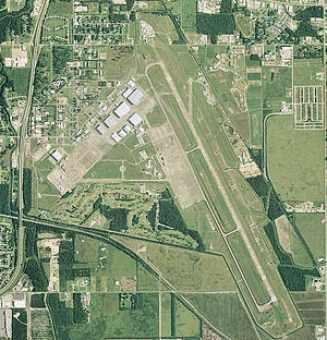 Chennault Air Force Base - USGS aerial photo as of 2006