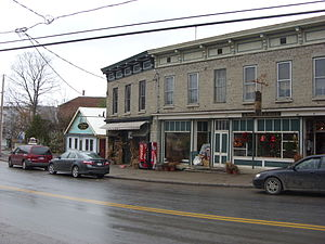 National Register of Historic Places listings in Otsego County, New York - Image: Cherry Valley NY Historic District Nov 08