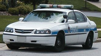 Prince George's County Police Department - A Chevrolet Impala of the PGPD in 2006.