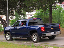 2009 chevy silverado extended cab bed length
