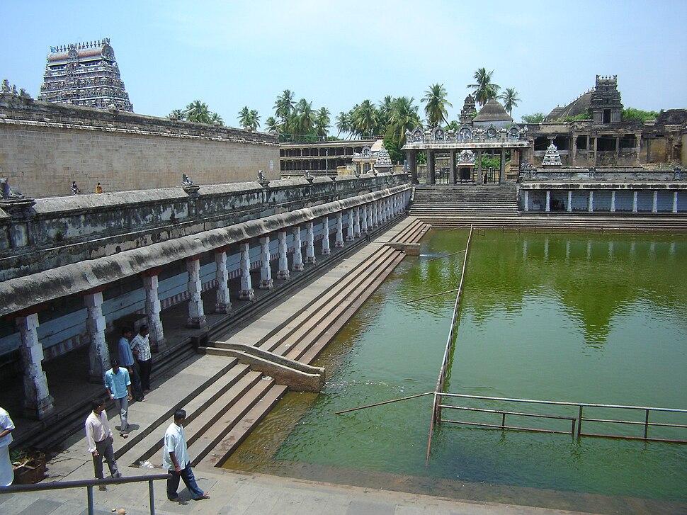 Chidambaram Nataraja temple tank