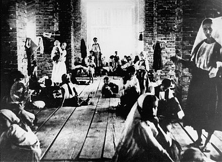 Stara Gradiska concentration camp Children in Stara Gradiska.jpg