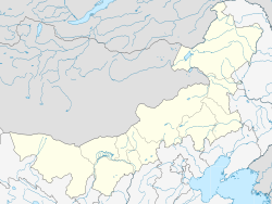Ongniud Banner is located in Inner Mongolia