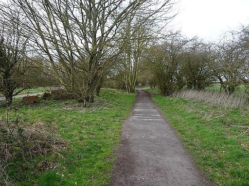 Chiseldon Camp railway station (site), Wiltshire (geograph 6090223)