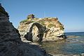 Chora of Andros, Venetian castle, 090607.jpg