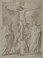 Christ Crucified, Attended by the Virgin, Saint Mary Magdalen, and Saint John the Evangelist MET 1973.345.jpg